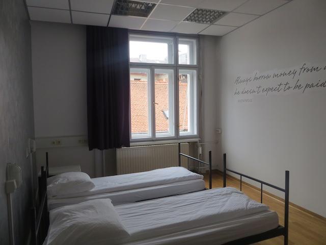 Zimmer im Hostel Tresor in Ljubljana.