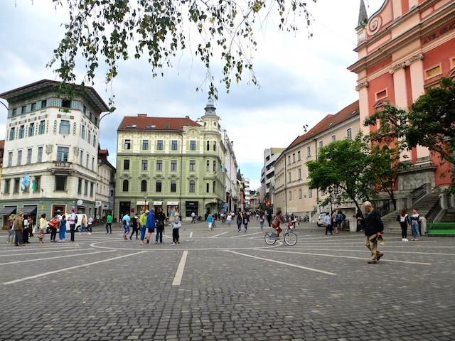 Ljubljana, eine tatsächlich wunderschöne Stadt.
