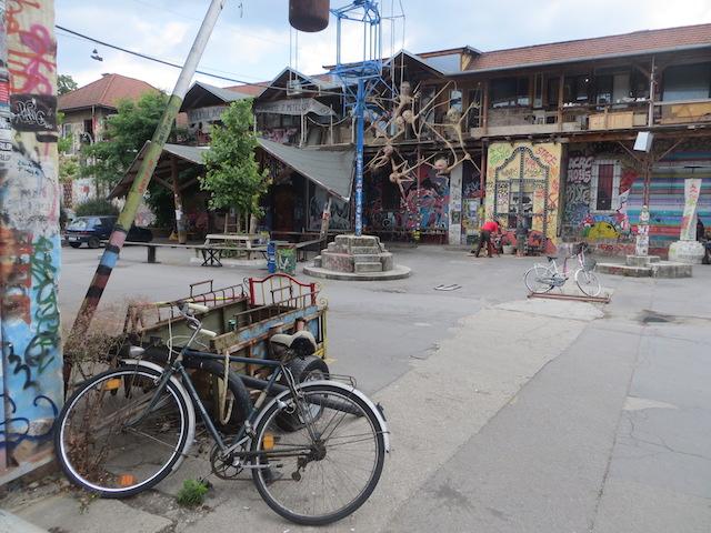Nicht verpassen: Das Viertel Metelkova in Sloweniens Hauptstadt Ljubljana.