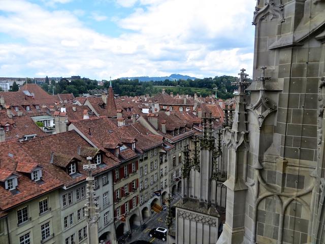Der Aufstieg aufs Münster geht über viele Treppenstufen...