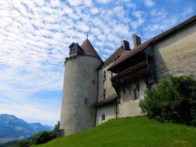 Der Schlossturm. Könnte fast Rapunzels Zuhause sein, oder?