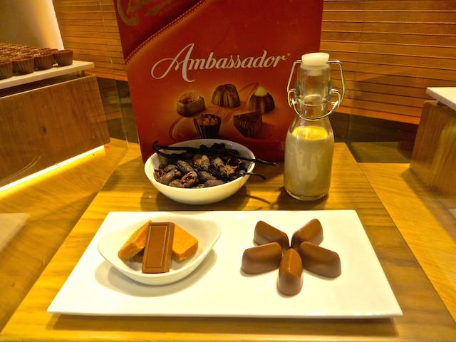 Cailler Schokolade in der Fabrik in Broc.