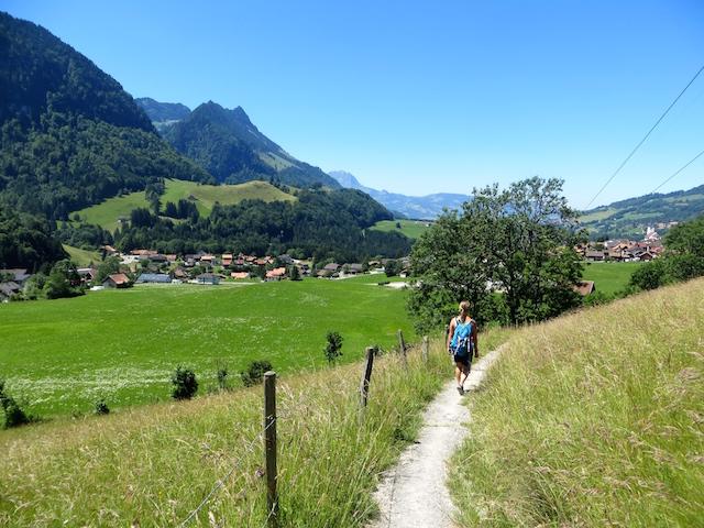 Die Region Gruyère ist perfekt für Wanderliebhaber.