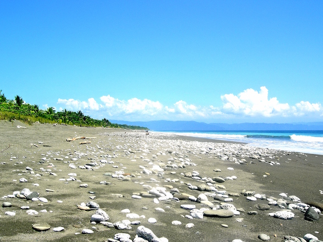 Einsamer als in Puerto Jimenez können die Strände kaum mehr sein.