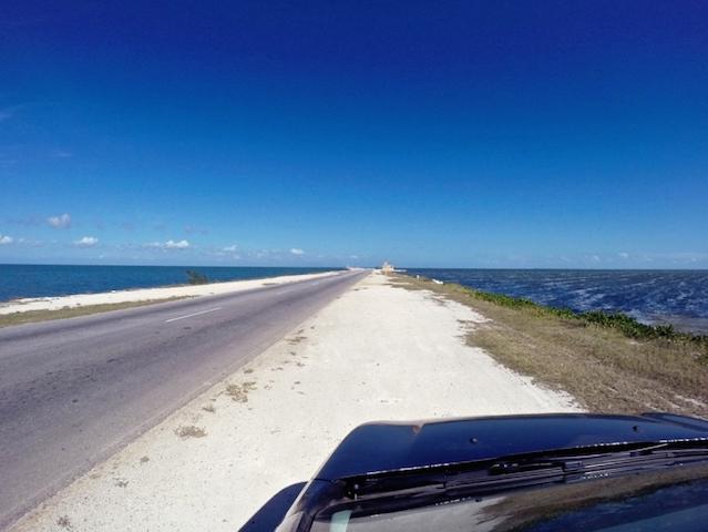 Auf Kuba unterwegs mit Mietauto.