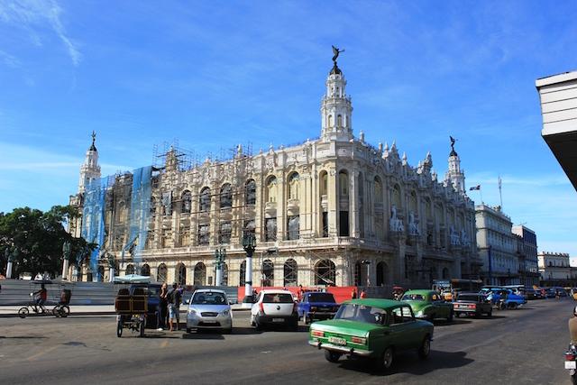Das Zentrum Havannas auf Kuba.