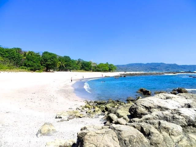 Strand in Santa Teresa, Costa Rica.