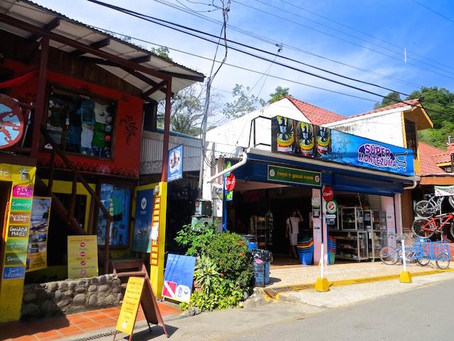 Montezuma - Ex-Hippie Dorf auf der Peninsula Nicoya.