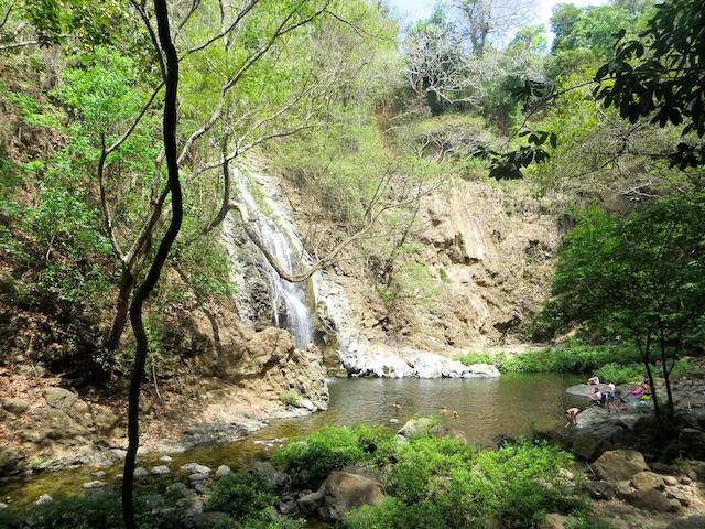 Der Wasserfall von Montezuma.