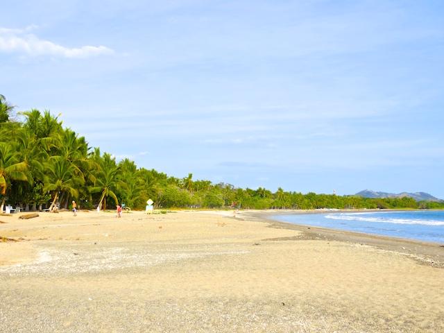 Der Strand von Sámara in Costa Rica.