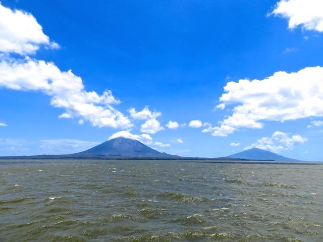 Anreise zur Isla Ometepe mit der Fähre.