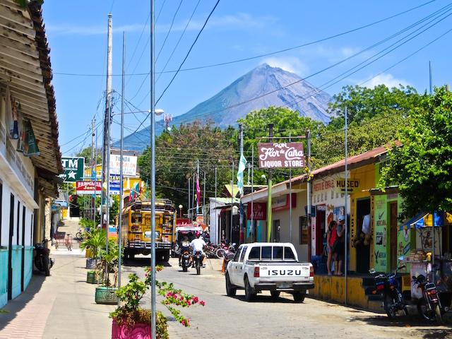 In Moyogalpa, dem Hauptort der Isla Ometepe.