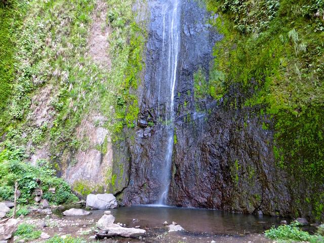 Der Wasserfall San Ramon auf der Isla Ometepe.