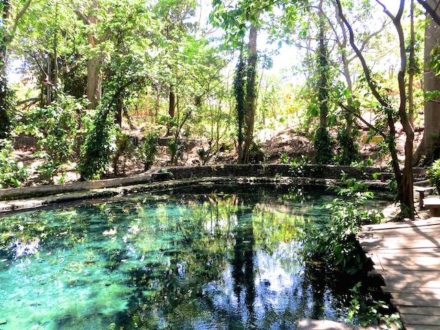 Ojo de Agua auf Ometepe.