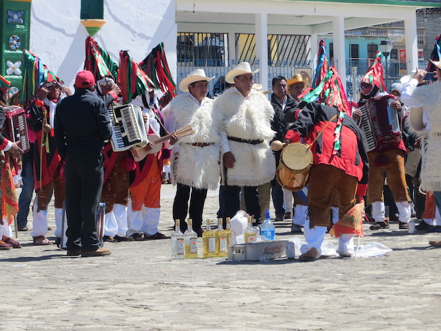 Inka-Karneval in der Nähe von San Cristobal de las Casas in Mexiko.