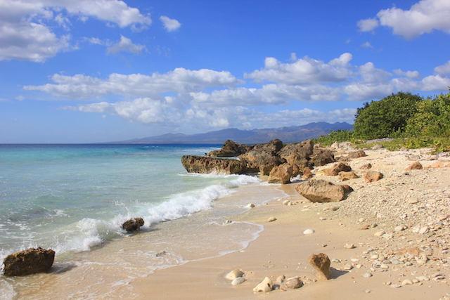 Playa Ancon in Trinidad, einfach wunderschön, nicht?