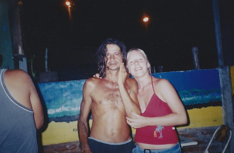 Karneval in Brasilien. Mit Charlie, einem der Chicos der Mangu Beach Bar.