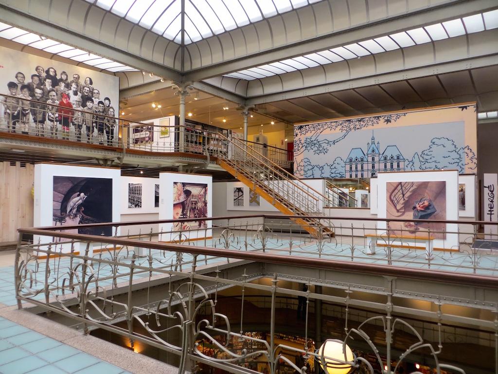 Im Comics Museum in Brüssel.