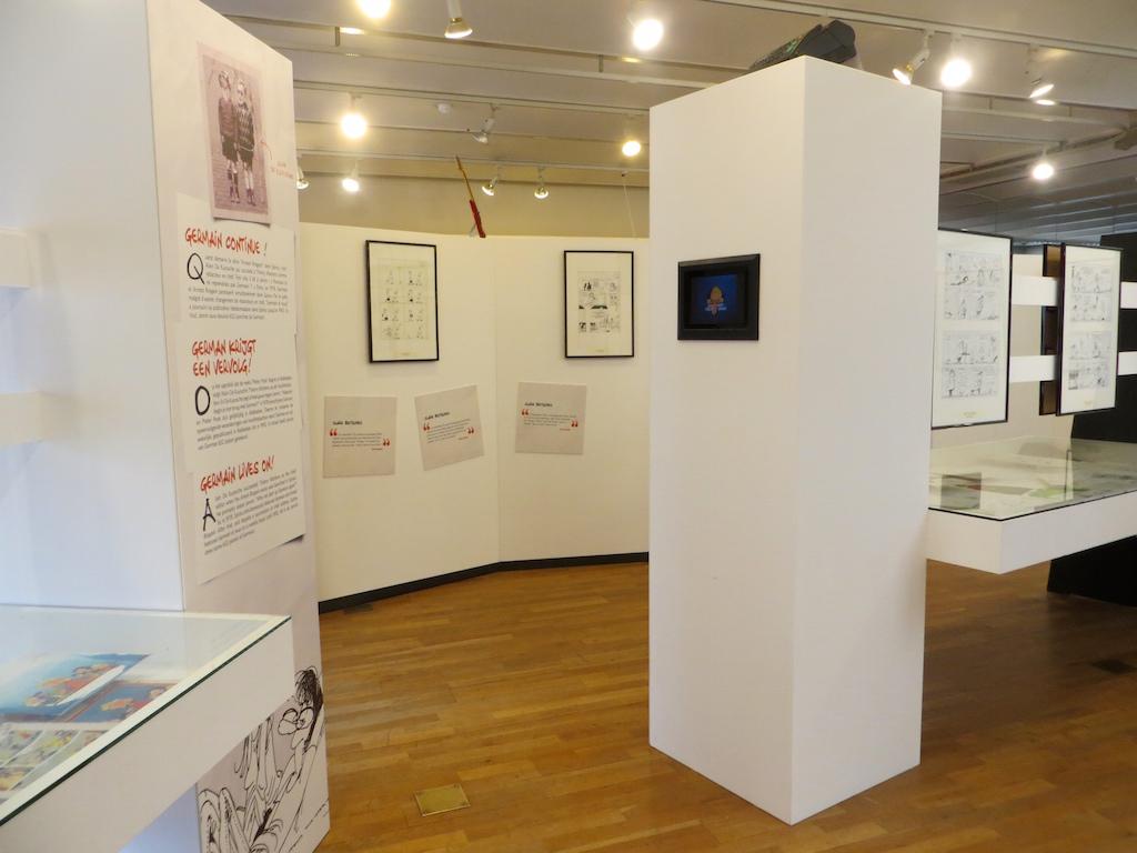 In der Wechselausstellung im Comic Museum in Brüssel.