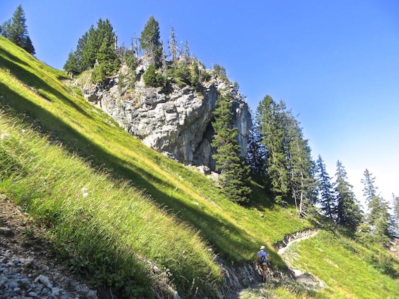 ...und eine wunderschöne Wanderroute zum Seebergsee.