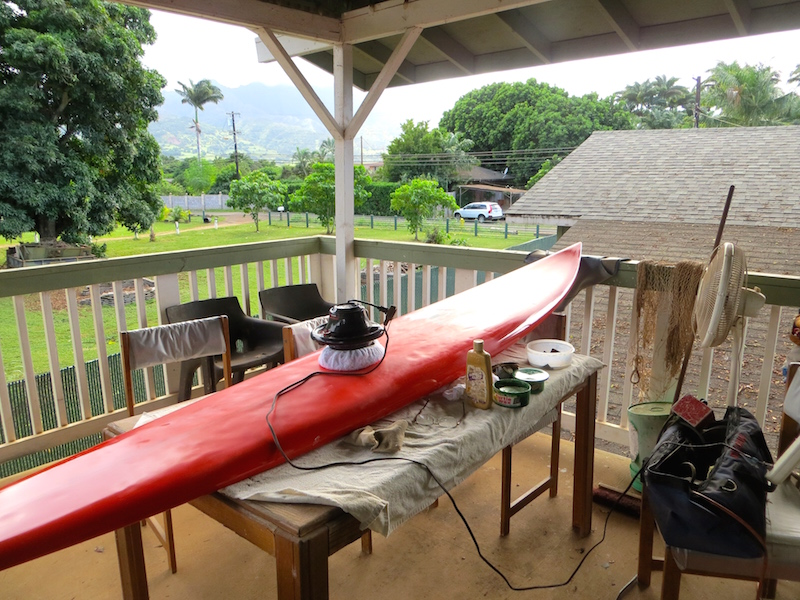 Couchsurfing auf Hawaii sieht dann so aus.