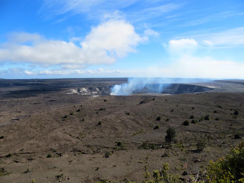 Ein aktiver Vulkan auf Big Island.