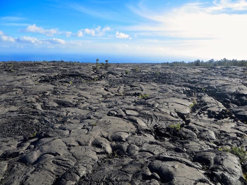 Der vulkanische Ursprung der Insel ist überall zu sehen.