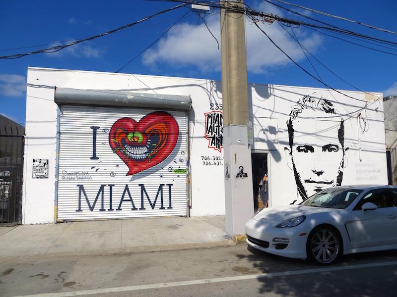Wynwood, das schönste Viertel in Miami.