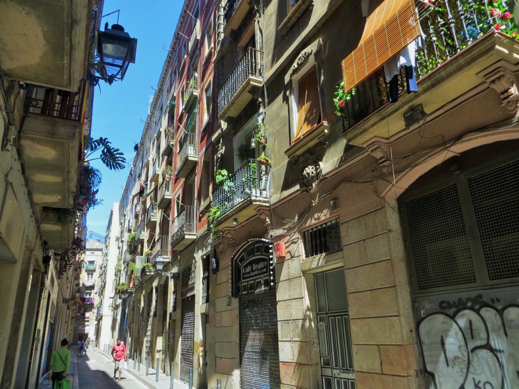 Raval, mein liebstes Viertel in Barcelona.
