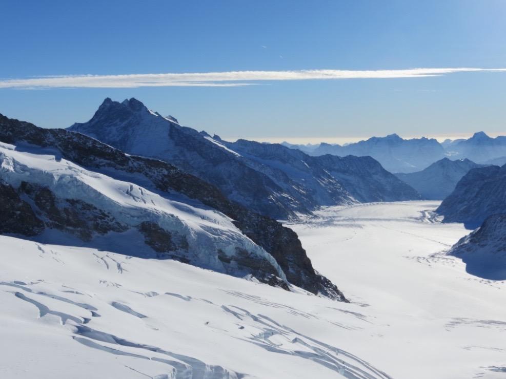 Auf dem Jungfraujoch - Top of Europe!