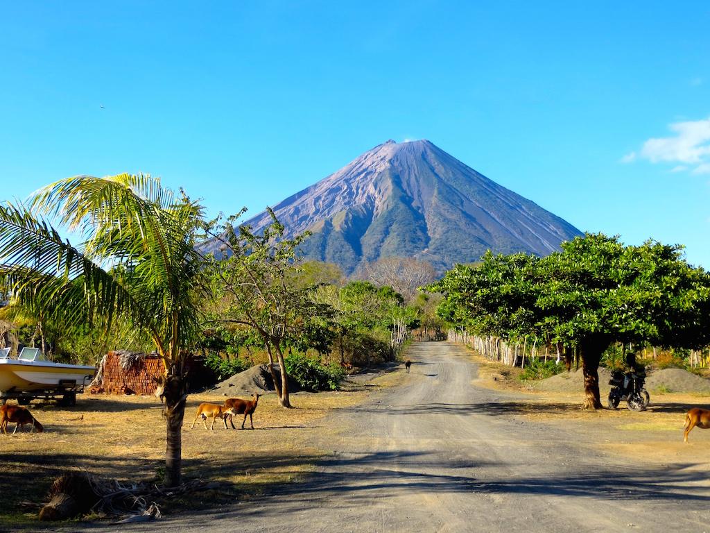 Die Isla Ometepe in Nicaragua.