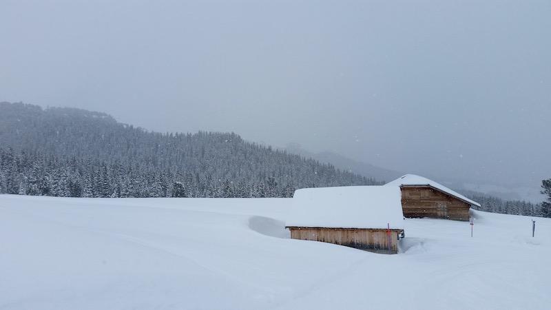 Schöne Aussichten unterwegs auf der Kleinen Scheidegg.