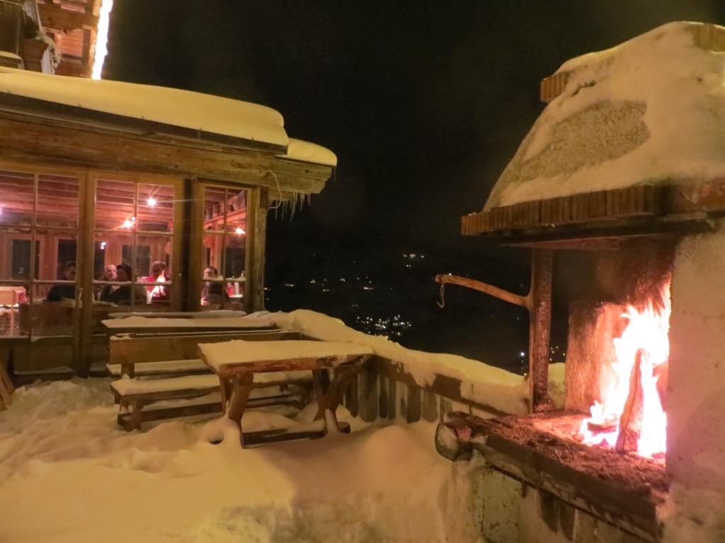Hüttenromantik in den Kitzbüheler Alpen in Tirol.