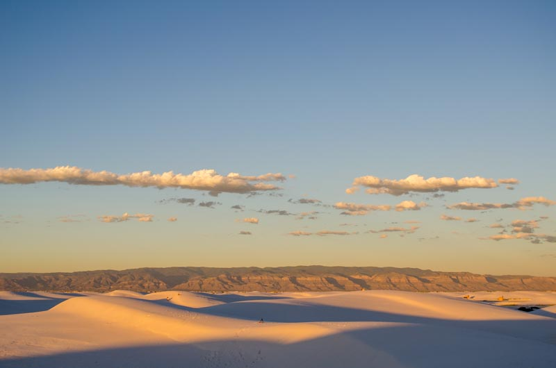 White Sands Nationalpark in New Mexiko - Foto von synke-unterwegs.com
