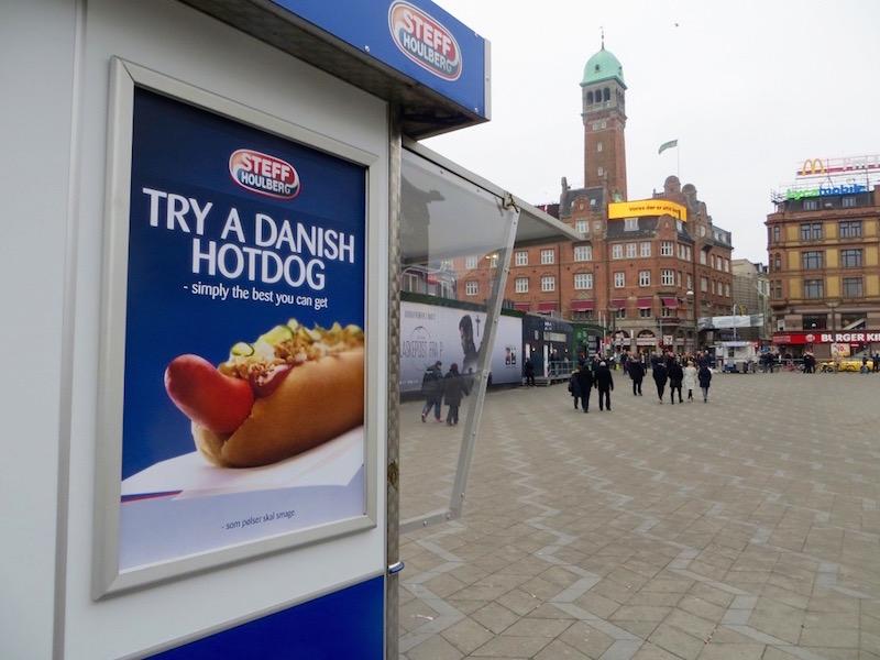 Der dänische Hot Dog - er gehört einfach zu jedem Kopenhagen Trip.