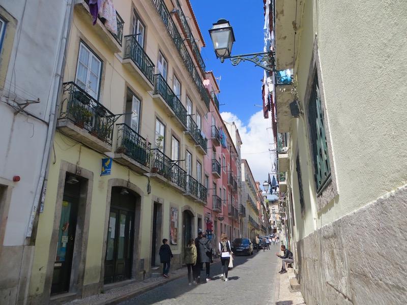 Das Bairro Alto in Lissabon.