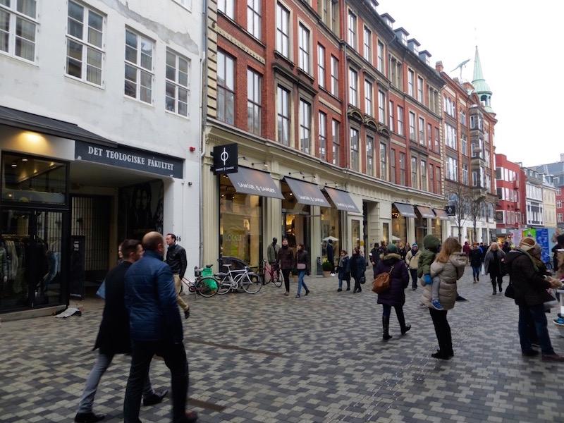 Flanieren durch Kopenhagens Innenstadt.