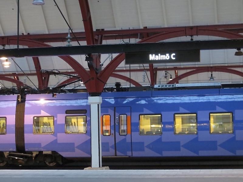 Kopenhagen-Malmö: Dauert nur eine halbe Stunde.