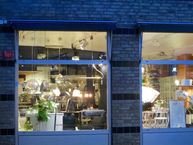 Designerboutiquen in Kopenhagen: Gefühlt an jeder Strassenecke zu finden.