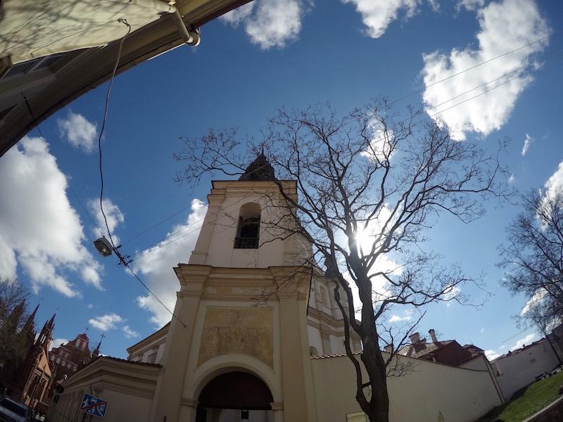Anscheinend kann man von jedem Altstadtgässchen eine Kirche sehen, so sagt man.