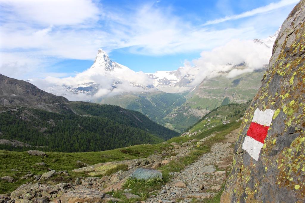 Zermatt und Wandern passt wunderbar!
