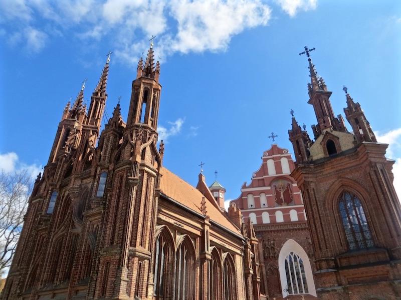 Vilnius, die Stadt der Kirchen.