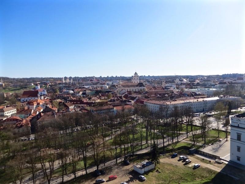 Sicht auf Vilnius.