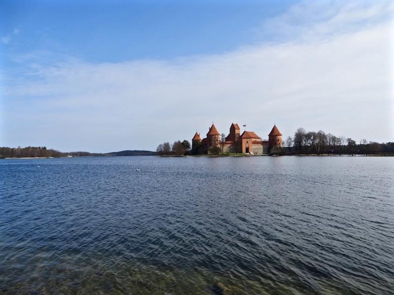 Ein Ausflug zum Wasserschloss Trakai in Litauen.