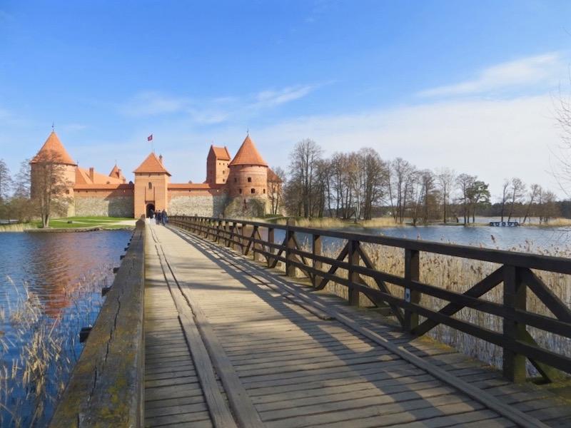 Schloss Trakai in Litauen.