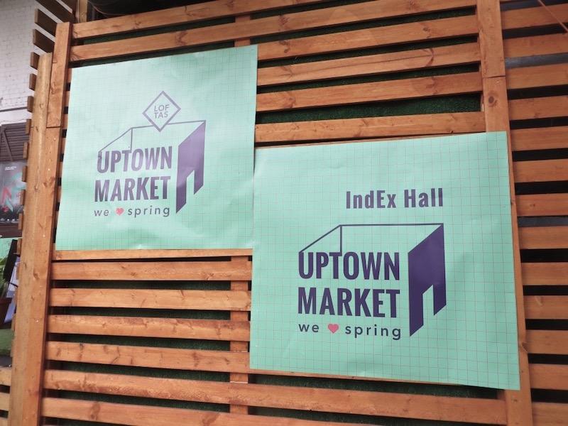 Uptown Market in Vilnius.